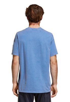 Adidas Originals Herren T-Shirt TREFOIL T-SHIRT CW0703 Blau – Bild 3