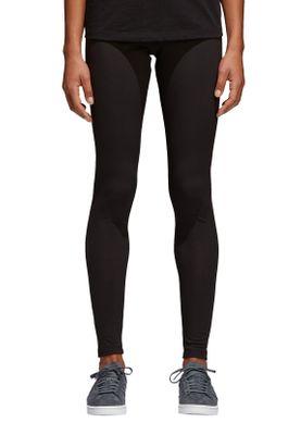 Adidas Originals Damen Leggings TREFOIL TIGHT CW5076 Schwarz – Bild 1