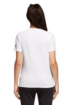 Adidas Originals Damen T-Shirt TREFOIL TEE CV9889 Weiß – Bild 3
