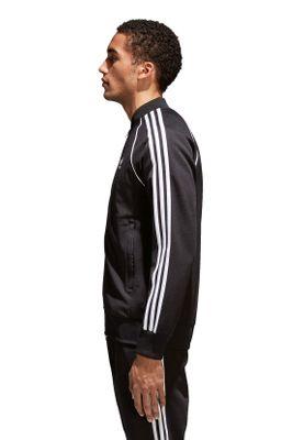 Adidas Originals Herren Sweatjacke SST TT CW1256 Schwarz – Bild 2