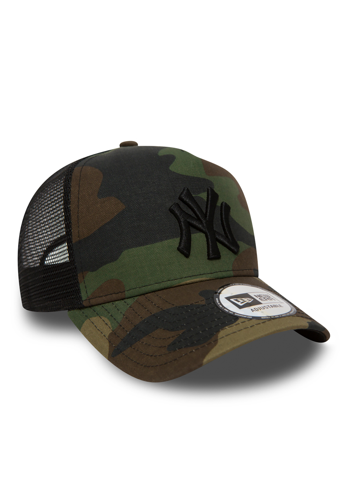 promo code 801e0 86d38 ... purchase new era clean trucker adjustable cap ny yankees camouflage  ebay 6582c 58563