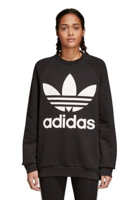 Adidas Originals Damenpullover OVERSIZED SWEAT CY4755 Schwarz – Bild 1