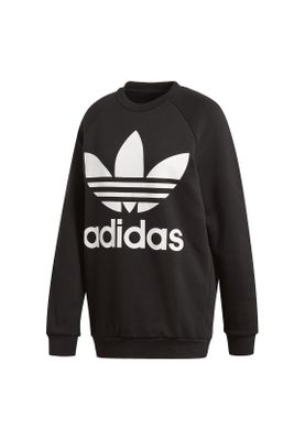 Adidas Originals Damenpullover OVERSIZED SWEAT CY4755 Schwarz – Bild 0