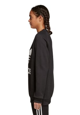 Adidas Originals Damenpullover OVERSIZED SWEAT CY4755 Schwarz – Bild 2