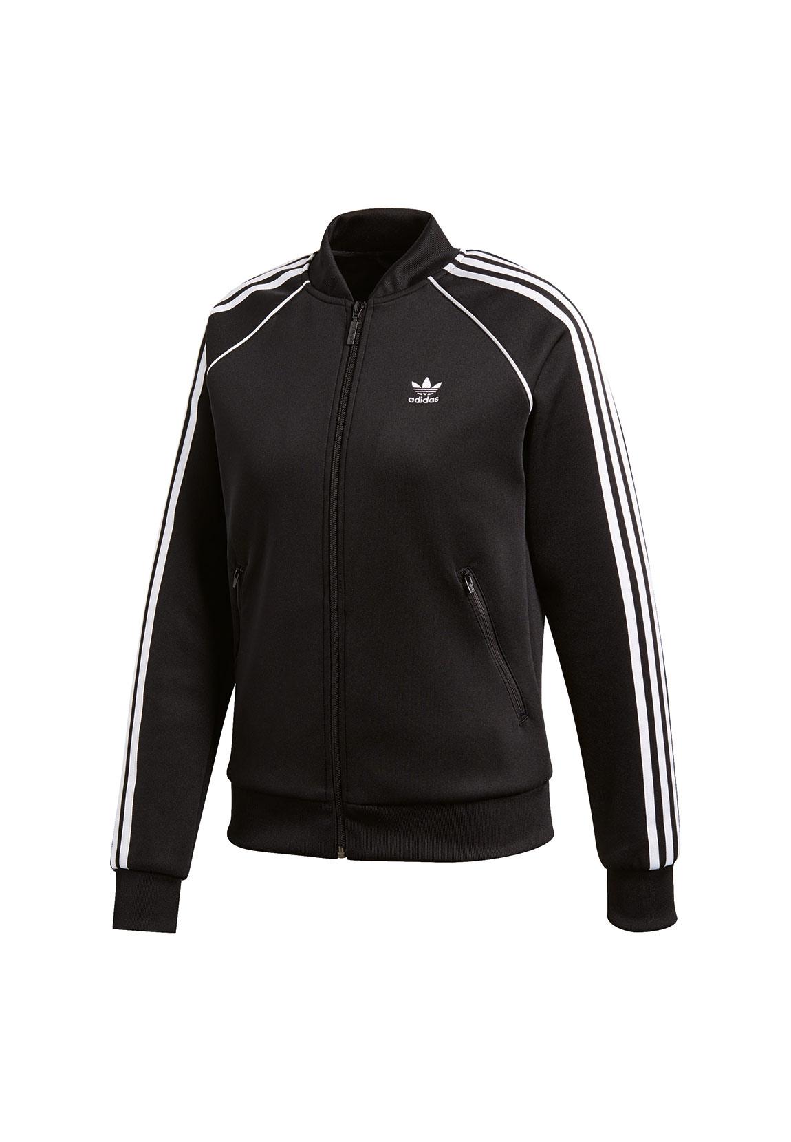 adidas originals damen sweatjacke sst tt ce2392 schwarz damen sweater hoodies. Black Bedroom Furniture Sets. Home Design Ideas