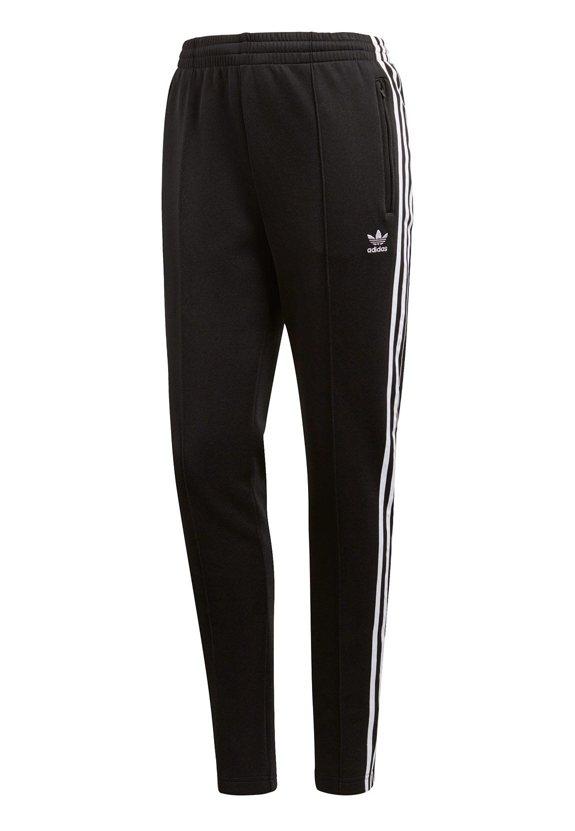 adidas originals damen jogginghose sst tp ce2400 schwarz. Black Bedroom Furniture Sets. Home Design Ideas