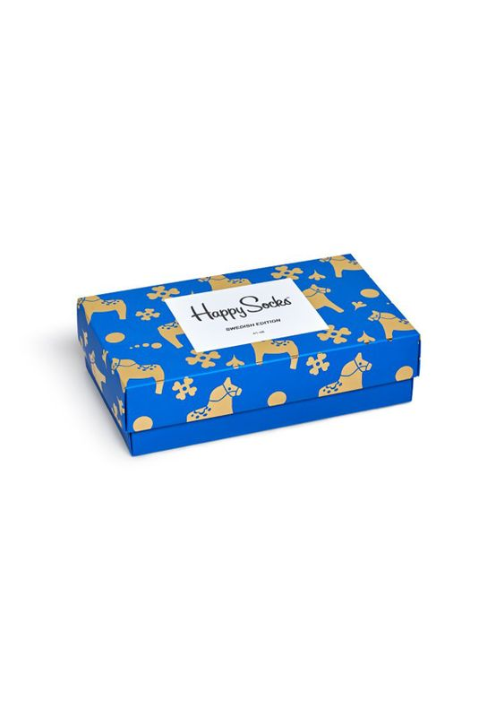 Happy Socks Geschenkbox SWEDISH EDITION GIFT BOX XSWE08-6000 Navy – Bild 1