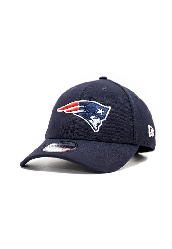 New Era NFL Properties 9Forty Adjustable Cap NEW ENGLAND PATRIOTS Blau – Bild 0