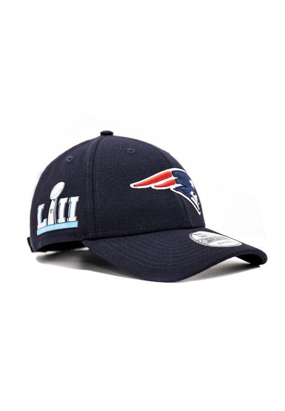 New Era NFL Properties 9Forty Adjustable Cap NEW ENGLAND PATRIOTS Blau – Bild 1