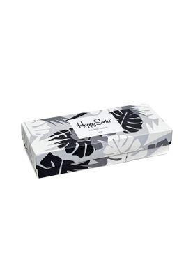 Happy Socks Geschenkbox BLACK WHITE GIFT BOX XBLW09-9002 Schwarz – Bild 1