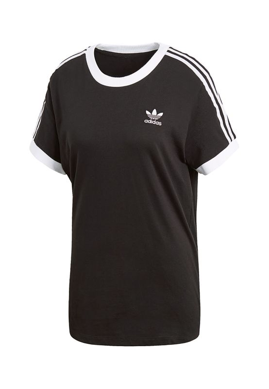 Adidas Originals Damen T-Shirt 3 STRIPES TEE CY4751 Schwarz – Bild 0