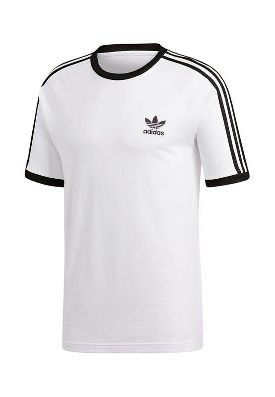 Adidas Originals Herren T-Shirt 3 STRIPES TEE CW1203 Weiß – Bild 0