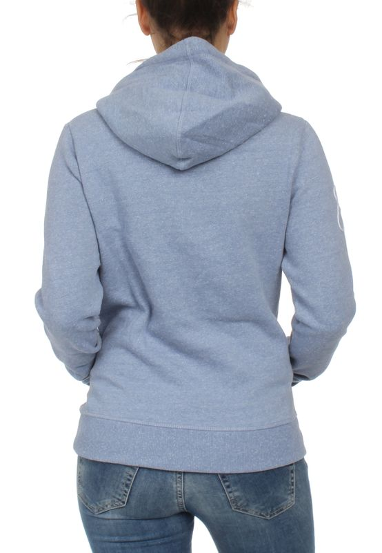 Superdry Sweater Damen HORIZON ENTRY Cali Blue Snowy – Bild 1