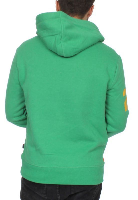 Superdry Herren Sweater SWEAT SHIRT STORE TRI Kelly Green Marl – Bild 1
