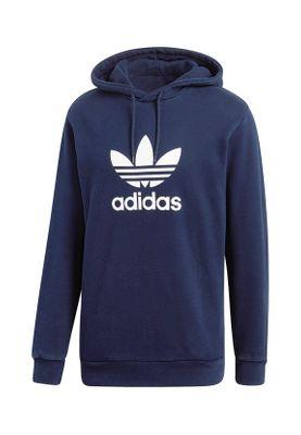 Adidas Originals Herren Sweater TREFOIL HOODY CX1900 Dunkelblau – Bild 0