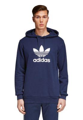 Adidas Originals Herren Sweater TREFOIL HOODY CX1900 Dunkelblau – Bild 1