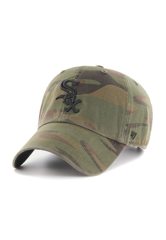 47 Brand Clean Up Strapback CHICAGO WHITE SOX RGMNT06GWS-SW Camo – Bild 0