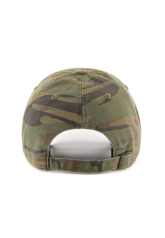 47 Brand Clean Up Strapback BOSTON RED SOX RGMNT02GWS-SWA Camo – Bild 1