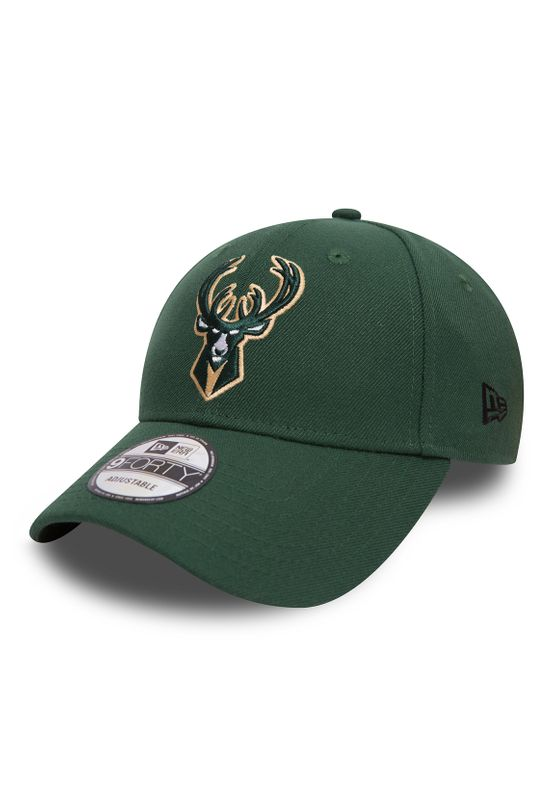New Era The Legaue 9Forty Adjustable MILWAUKEE BUCKS Grün