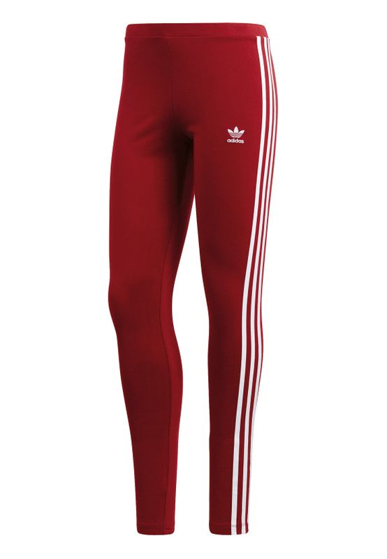Adidas Originals Damen Leggings 3STR TIGHT CE2442 Dunkelrot – Bild 0