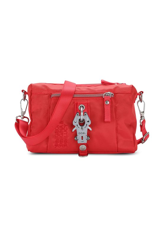 George Gina & Lucy Tasche THE DROPS red allert 380 Rot – Bild 0