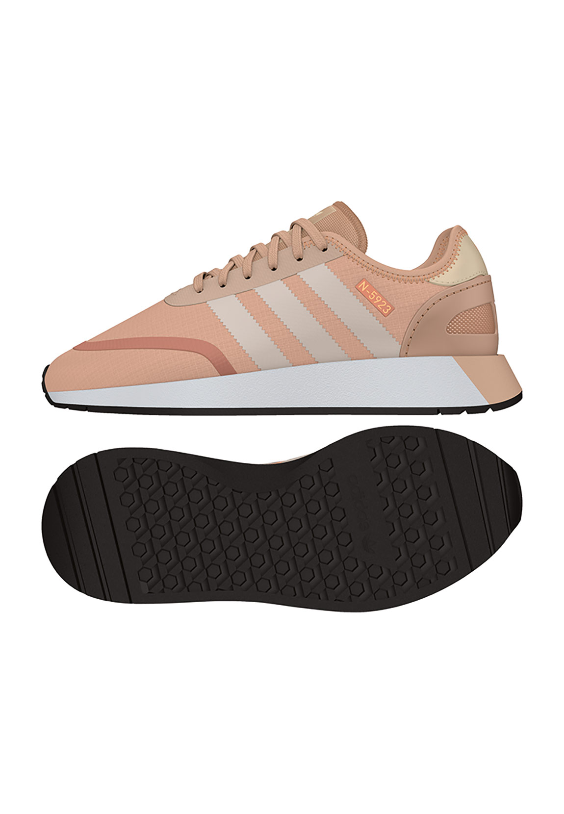 Details zu Adidas Sneaker Damen Iniki N 5923 W AQ0265 Rosa