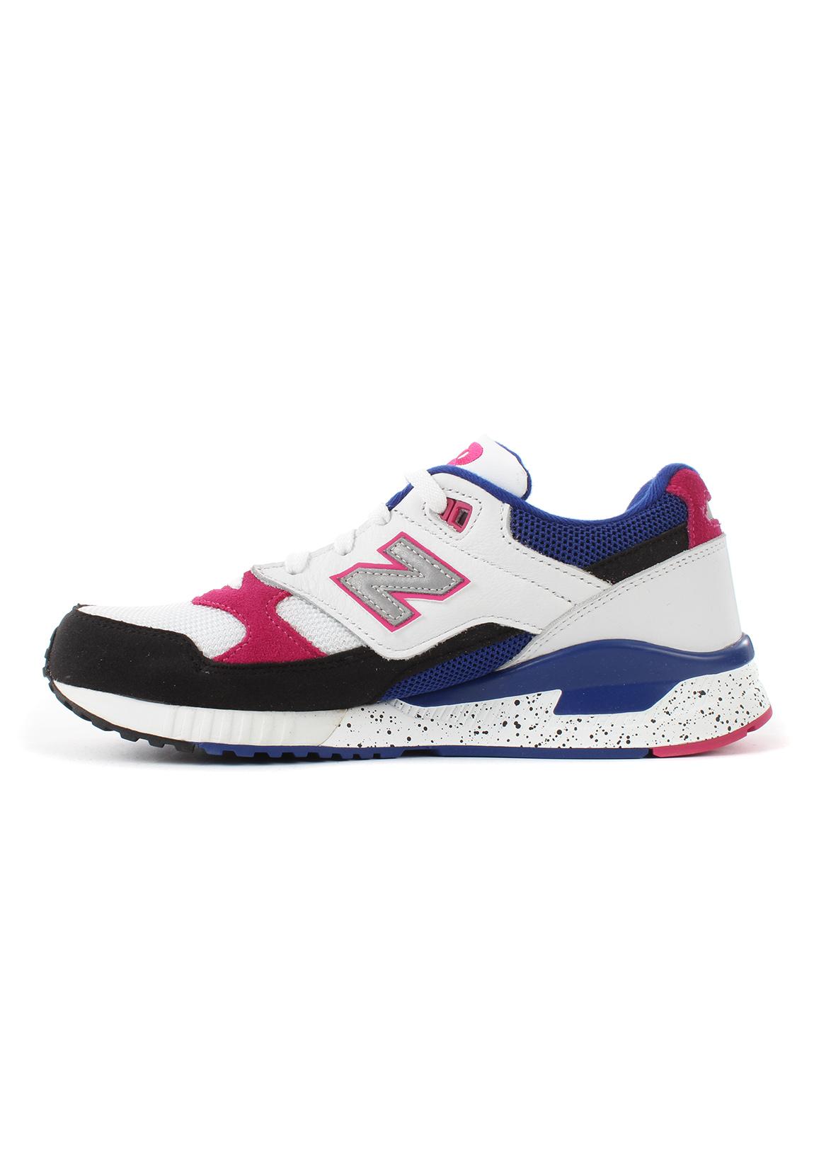 New Balance Damen Sneaker W530PSA Mehrfarbig Weiss Pink Blau
