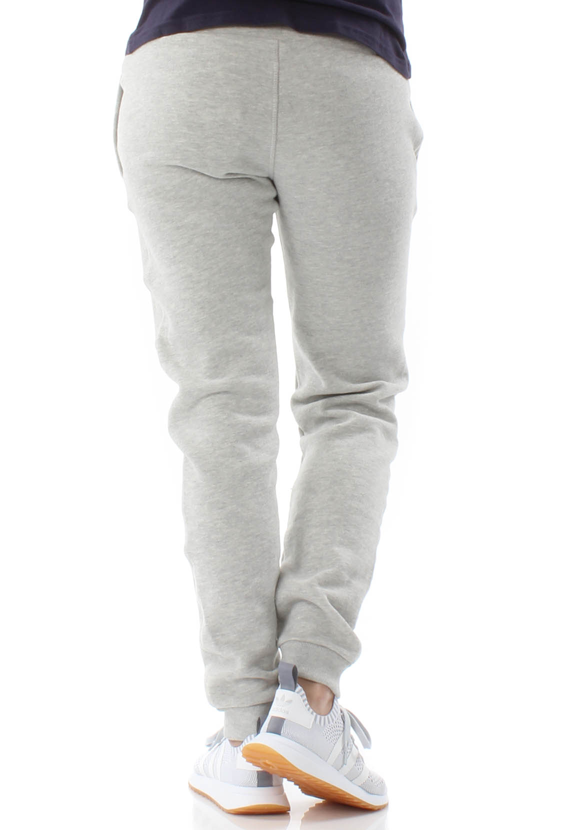 Superdry Jogginghose Damen APPLIQUE SLIM JOGGER Pacific Grey Marl