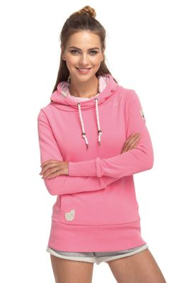 Ragwear Sweater Damen YODA SWEAT 1811-30017 Pink Pink 4043