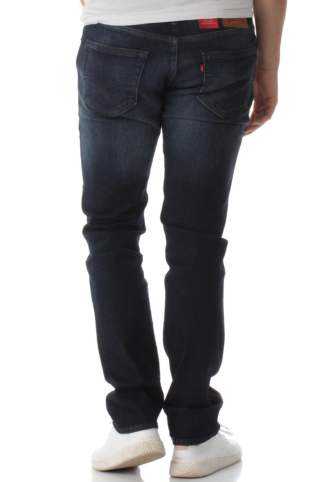 levi s herren jeans 511 slim fit 04511 2849 nightmare ltwt. Black Bedroom Furniture Sets. Home Design Ideas