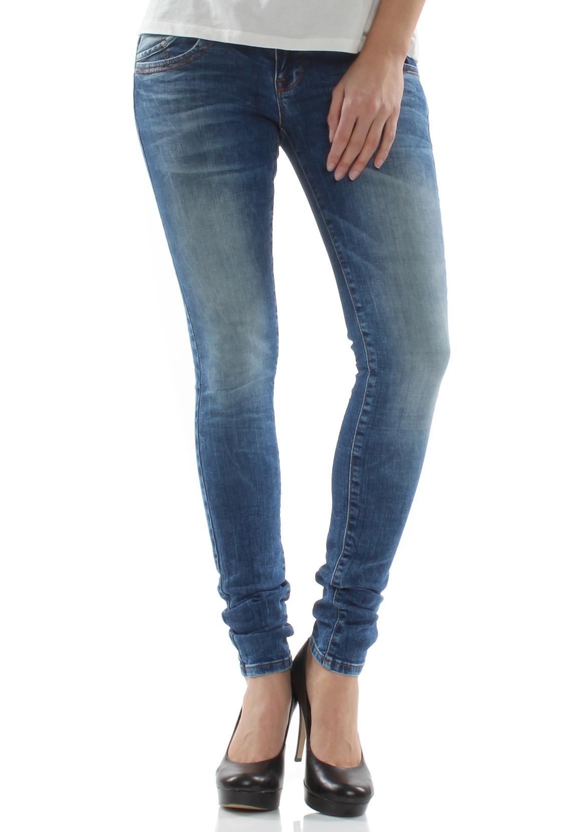 ltb jeans damen julita x angellis wash blau damen jeans hosen. Black Bedroom Furniture Sets. Home Design Ideas