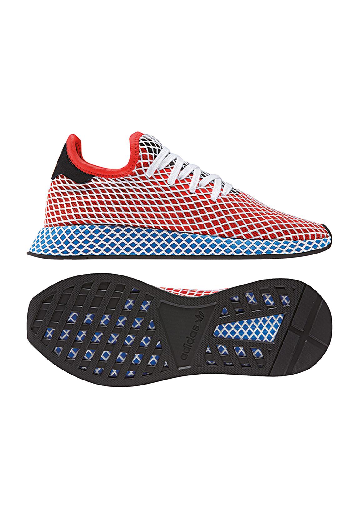 half off ecf30 eb3e2 Adidas Originals Sneaker DEERUPT RUNNER CQ2624 Rot Blau