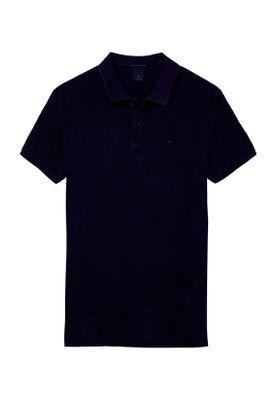 Scotch & Soda Polo Men CLASSIC Garment Dyed Pique 142734 Navy 0004 Dunkelblau