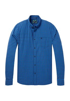Scotch & Soda Hemd Men CLASSIC BB Check 142534 Combo A 0219 Blau kariert