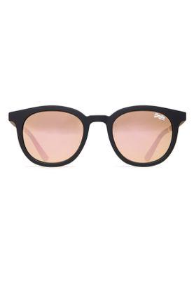 Superdry Sonnenbrille CASSIE SUN Rubberised Black Pink Mirror – Bild 0