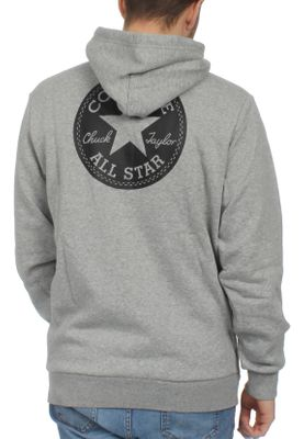 Converse Herren Sweater CHUCK PATCH GRAPHIC 10006680 035 Grey – Bild 1
