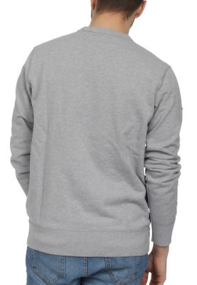 Converse Herren Sweater ESSENTIAL GRAPHIC CREW 10005811 022 Grey – Bild 1
