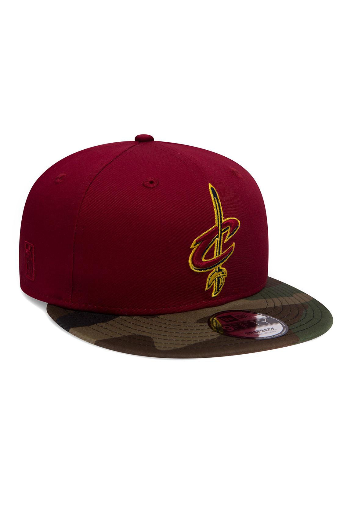 Cleveland Cavaliers rot New Era 9Fifty Snapback Cap