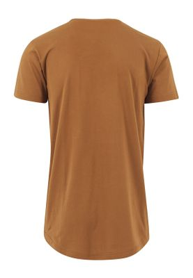Urban Classics Herren Shaped Long Tee TB638 Toffee – Bild 1