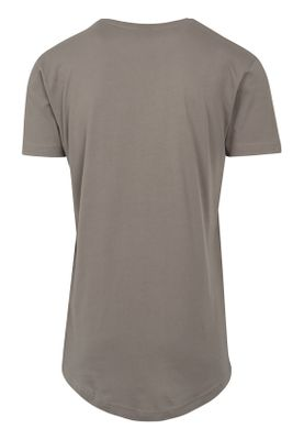 Urban Classics Herren Shaped Long Tee TB638 Army Green – Bild 1