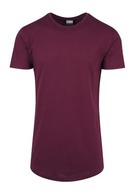 Urban Classics Herren Shaped Long Tee TB638 Port