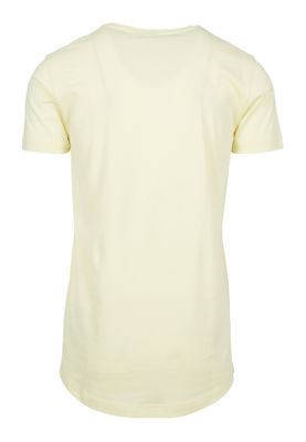 Urban Classics Herren Shaped Long Tee TB638 Powderyellow – Bild 1