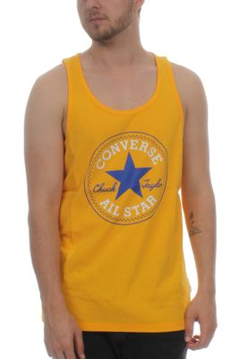Converse Herren Tank CHUCK PATCH 10002888 839 University Gold Gelb – Bild 0
