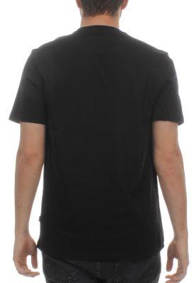 Converse Herren T-Shirt BASKETBALL THEME TEE 10005897 001 Black Schwarz – Bild 1
