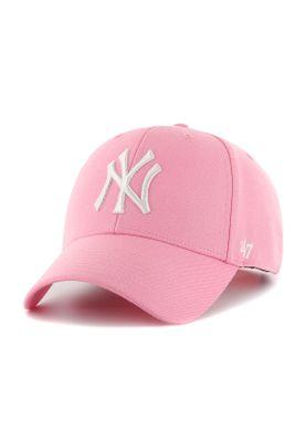 47 Brand MVP Snapback NY YANKEES MVPSP17WBP-RS Rosa – Bild 0