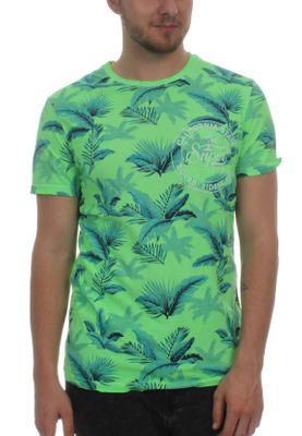 Superdry T-Shirt Herren BOARD RIDERS POCKET LITE WEIGH Fluro Green – Bild 0