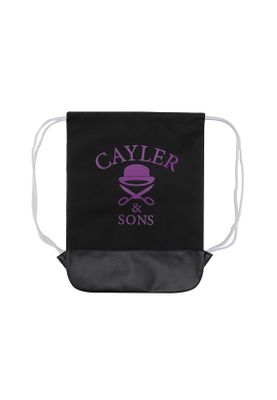 Cayler & Sons Gymbag PURPLE SWAG GYMBAG Black  – Bild 1