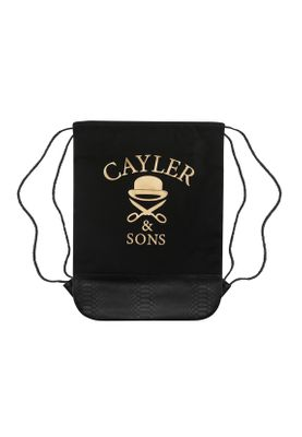 Cayler & Sons Gymbag MONEY POWER RESPECT GYMBAG Black Gold White – Bild 1