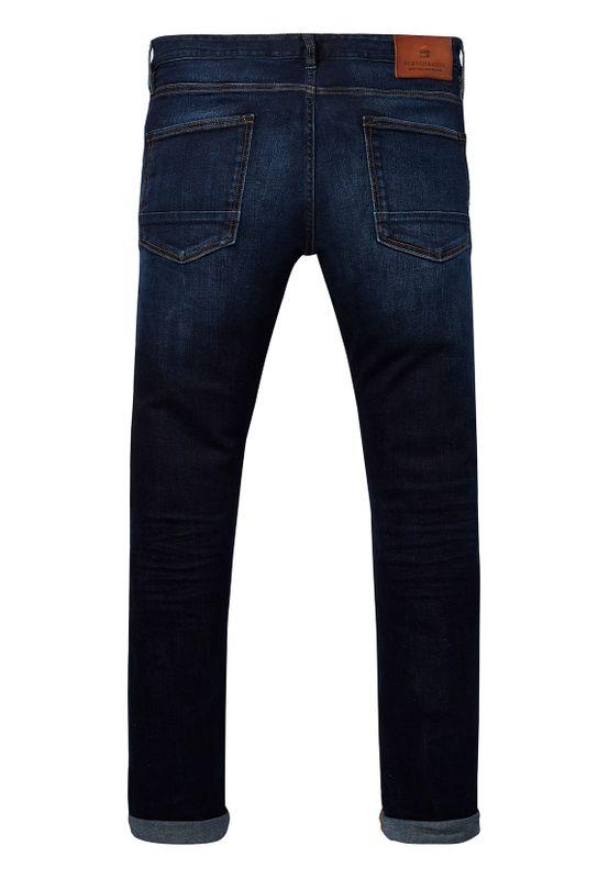 Scotch & Soda Herren Jeans RALSTON 144839 Beaten Back 1841 Dunkelblau – Bild 1