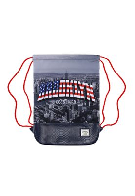 Cayler & Sons Gymbag CROOKLYN SKYLINE Navy Red Mc  – Bild 0